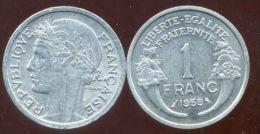 FRANCE  1 Franc 1959   Morlon   SUP - Frankrijk