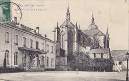 88 / REMIREMONT / MAIRIE ET ABSIDE DE L EGLISE - Remiremont
