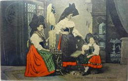 Elsasser Trachten : Costumes Alsaciens - France