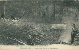 95 BESSANCOURT / Bucherons, Forêt De Montmorency / - Autres Communes