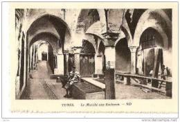 TUNIS MARCHE AUX ESCLAVES,VUE INTERIEUR   REF 15209 - Vari
