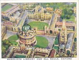 Churchman Cigarette Card Wings Over Empire No 6 Radcliffe Librar
