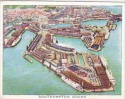 Churchman Cigarette Card Wings Over Empire No 11 Southampton