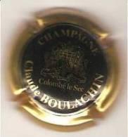 CAPSULE MUSELET CHAMPAGNE Claude BOULACHIN COLOMBE LE SEC - Autres