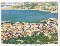 Churchman Cigarette Card Wings Over Empire No 47 Wellington New