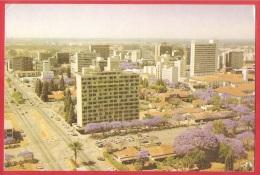 CARTOLINA VG ZIMBABWE - HARARE - Compensation House - 10 X 15 - ANNULLO HARARE 1988 - TIMBRO ROTARY CONFERENCE - Zimbabwe