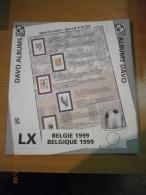 SUPPLEMENT DAVO BELGIQUE 1999 LX 4 . - Album & Raccoglitori
