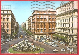 CARTOLINA VG ITALIA - NAPOLI - Piazza Della Borsa - 10 X 15 - ANNULLO NAPOLI - Napoli