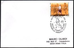 ATHLETICS / OLYMPIC GAMES - ITALIA CORREGGIO 2008 - ASSEMBLEA ANNUALE UICOS - MOSTRA DORANDO PIETRI - SMALL COVER