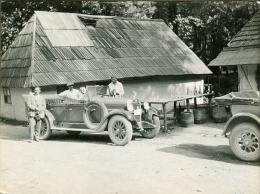 Na Izvoru Rijeka Bosna 1928 Oldtimer Car Old Orig. Photo Archive Of Minister Rojc Bosna Bosnia - Photography