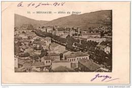 MONASTIR ..-- SERBIE ..-- Allées Du Dragor . 1918 Vers France . Voir Texte Verso .
