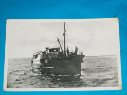 "85) Ile D'yeu - N° 117 - CARTE PHOTO - "" L'insula Oya "" Bateau -  Année 1951 - EDIT - Nozais - Ile D'Yeu"