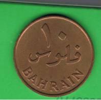 BAHRAIN -10 Fils 1965  KM3 - Bahrein