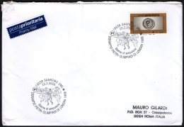 ATHLETICS / OLYMPIC GAMES - ITALIA SANREMO (IM) 2008 - DORANDO PIETRI - OLIMPIADI DI LONDRA 1908 - BUSTA VIAGGIATA - Summer 1908: London