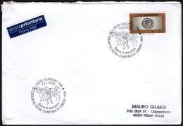 ATHLETICS / OLYMPIC GAMES - ITALIA SANREMO (IM) 2008 - DORANDO PIETRI - OLIMPIADI DI LONDRA 1908 - BUSTA VIAGGIATA