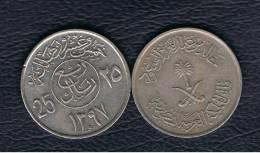 ARABIA SAUDITA -  25 Halala  1397  KM55 - Arabia Saudita