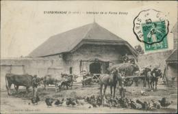 95 COURDIMANCHE / Intérieur De La Ferme Boissy / - Autres Communes