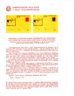 ITALIA - Bollettino Illustrativo P.TT. 1974 - Centenario C.P. - 6. 1946-.. Republic