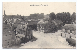 CPA Cléré Indre Loire 37 Vue Générale édit Chevrier Château La Vallière écrite Timbrée 1911 Bon état - Cléré-les-Pins