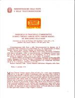 ITALIA - Bollettino Illustrativo P.TT. 1974 - (italiano-francese) - Terenzio Varrone - Letteratura - Storia Romana - Paquetes De Presentación