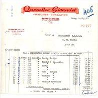 Quenelles Giraudet - Rue Edgar Quinet, Bourg En Bresse (Ain) - 1961 - Alimentos