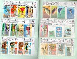 Carnet De 178  Timbres  Et  10 B.F. TANZANIE  Cote =  205  € - Collections (with Albums)