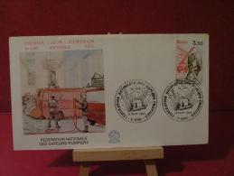 FDC - Les Sapeurs Pompiers - 51 Reims - 18.9.1982 Coté 6,50 € (2013 Y&T) - FDC