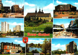 Grüße Aus Kamp-Lintfort - Neue City, Kloster Kamp,Rathaus, An Der Moerser Straße, Pappelsee...Carte écrite Ayant Circulé - Düsseldorf