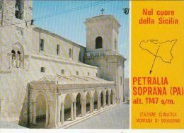 CPA PETRALIA SOPRANA- MOUNTAIN RESORT, CATHEDRAL - Italie