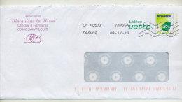 Pap Feuille Verte Entete Association Main Dans Main - PAP:  Varia (1995-...)
