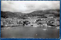PRINCIPAUTE DE MONACO VUE SUR MONTE CARLO ET LE PORT DE MONACO CARTE PHOTO DENTELEE - Monte-Carlo