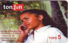"RRR Télécarte Du TONGA  ""Ma´ama´a "" TOP$5 Vide  TTB   Très Rarement Vu  **à Saisir **"