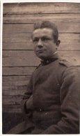 MILITARE  ( Artigliere )  /  Soldato In Posa - Formato Cartolina _ Regio Esercito Italiano - Guerre, Militaire