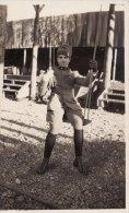 MILITARE  ( Artigliere )  /  Soldato In Posa - Formato Cartolina _ Regio Esercito Italiano - Guerra, Militari