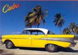 Cuba Postal Stationery Chevrolet Belair 1957 Mnh** Automobile Car Transport - Coches