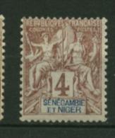 Sénégambie & Niger  N° 3  Neuf  *  Cote Y & T  6,00 Euro Au Quart De Cote - Neufs