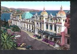 F1213 Principaute De Monaco - Le Casino De Monte Carlo Avec Auto Cars Voitures - Nice Stamp And Timbre Radio 1957 - Monaco