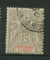 Sénégambie & Niger  N° 6  Oblitéré  Cote Y & T  15,00 Euro Au Quart De Cote - Unused Stamps