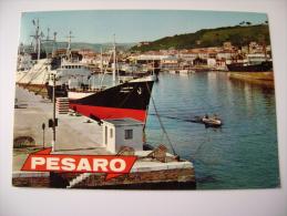 SALUTI  DA  PESARO  NAVE  MARCHE -   VIAGGIATA  COME DA FOTO - Pesaro