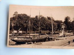 Carte Postale Ancienne : BLAYE : Le Chenal , Animé - Blaye