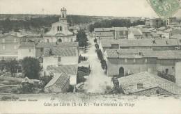311Di    13 Calas Par Cabries Vue D'ensemble Du Village - France
