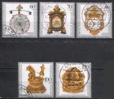 Germany - Mi-Nr 1631/1635 Gestempelt / Used (n952) - Uhrmacherei