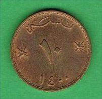 X401 Oman 10 Baisa 1979-1400 - Oman