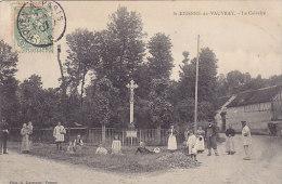 27 - St-Etienne-du-Vauvray - Le Calvaire (belle Animation, Automobile) - Other Municipalities