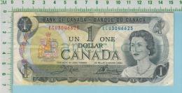 1973 Canadian One Dollar Bill (un Dollar De Papier 1973 - Canada