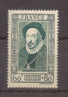Frankreich 1943, Nr. 600  Nationale Hilfe: Persönlichkeiten Des 16. Jahrhunderts Montaigne, Postfrisch Mnh ** - Nuovi