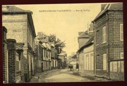 Cpa Du 27 St Cyr Du Vaudreuil  Rue De St Cyr   LOR4 - Le Vaudreuil