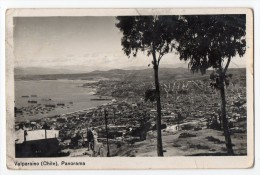 Chile Valparaiso Tarjeta Postal Foto  Real Photo  Vintage Original Postcard Cpa Ak (W3_2930) - Chile