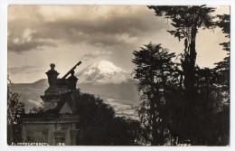 Mexico Tarjeta Postal Foto  El Popocatepetl Real Photo  Vintage Original Postcard Cpa Ak (W3_2931) - México
