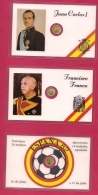 SPAIN 1975 3 Presentationcards With 1 Coin C1329 - [ 5] 1949-… : Kingdom